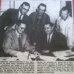 1959 Contract Signing